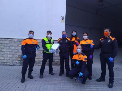 Donación por parte P.C. Diputacion de Almeria (Pantallas Protectoras)
