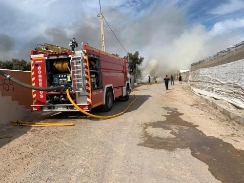 Incendio Almerimar